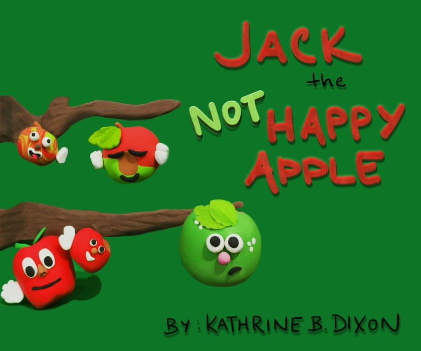Jack is not one of the Happy Apples who laugh and play all day long. Jack is anxious to become a pie (because everyone knows that pies are delicious!). He'll try everything to make it happen. Unfortunately, the universe has other plans. Will Jack's dreams ever come true?